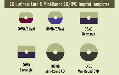 Cddvd imprint templates cd business card imprint templates colourmoves
